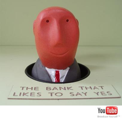 klik hier om de Youtube demo te zien van Whack a banker